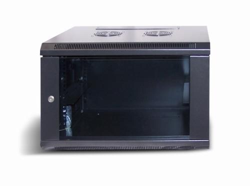 LC-R19-W4U450 Czarna - Wiszące szafy teleinformatyczne 19