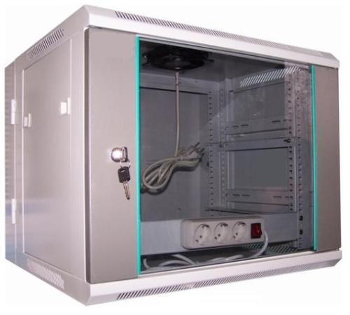 LC-R19-W6U550 GFlex Dragon D dzielona - Wiszące szafy teleinformatyczne 19