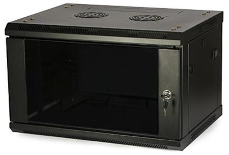 LC-R19-W18U450 GFlex Tango S czarna - Wiszące szafy teleinformatyczne 19