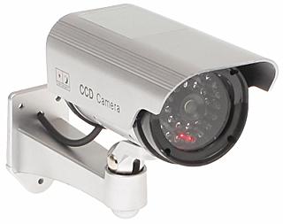 Atrapa kamery zewnętrznej z czujnikiem ruchu - Atrapy